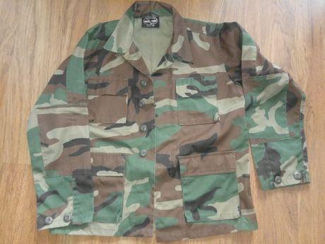 Bluza wojskowa 152 miltec woodland jak nowa