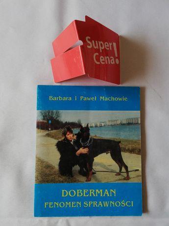 """książka """"Doberman fenomen sprawności"""" Barbara Paweł Machowie"""