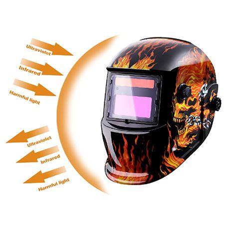 Mascara de Soldar Eletrônica, Solar com Auto Escurecimento MZ