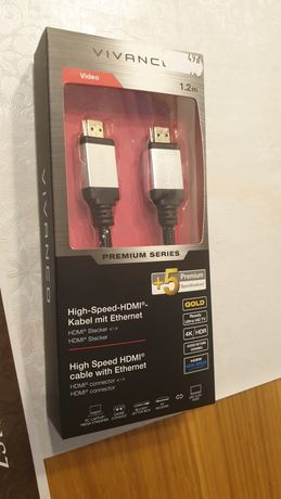 Kabel hdmi 4k hdr gold 1.2m