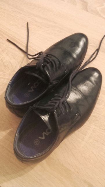 pantofle wizytowe - komunijne