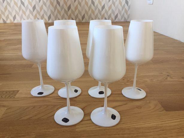 Sandra Bohemia набор бокалов для вина белые