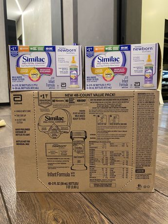 Similac pro-total comfort , pro-advance , pro-sensitive