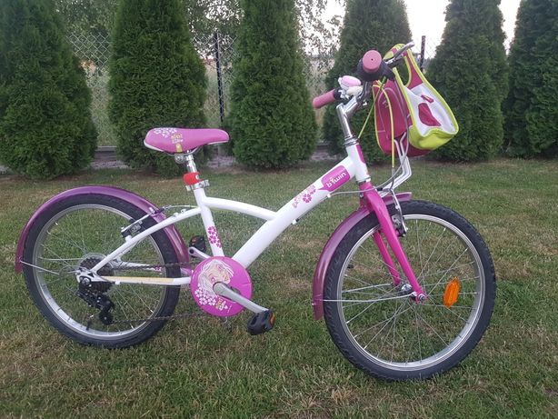 Rower rowerek Decathlon B twin koła 20Cali dla dziewczynki
