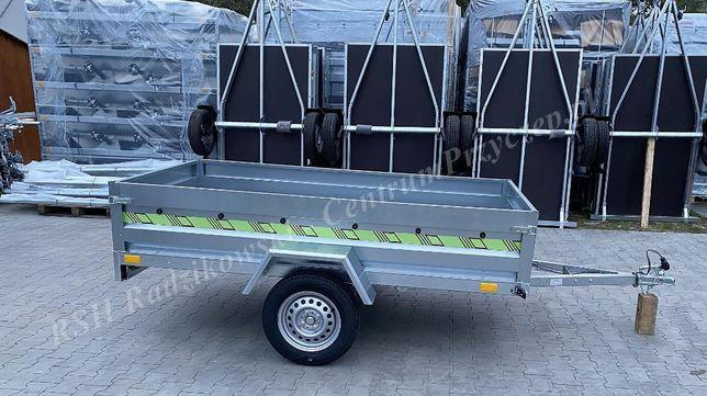 Przyczepka Samochodowa Rustique 236x129cm burta40cm Przyczepy Siedlce