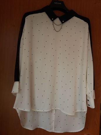 блуза шифоновая 46 размер