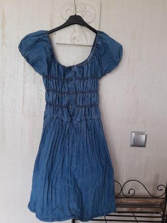Sukienka jeansowa Qeen