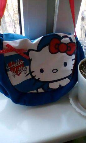 Набор сумка и кошелек-косметичка для девочки Китти