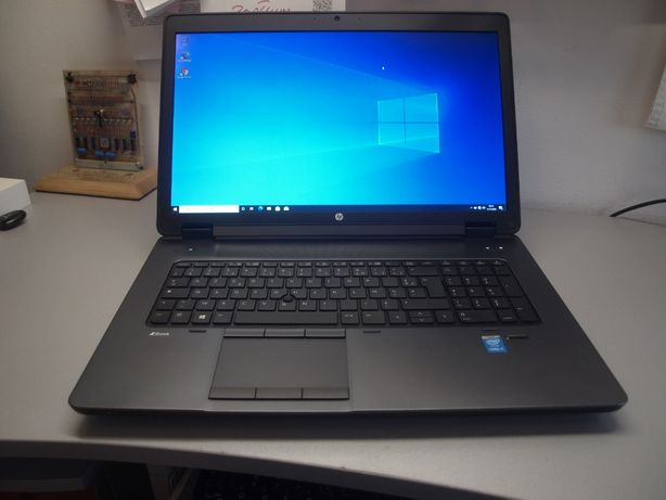 "LAPTOP 17"" HP Zbook G2 i7-4710MQ 16GB SSD 256GB K3100M FV Win GW"