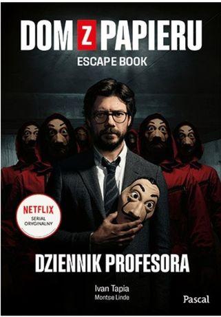 Dom z papieru. Escape book. Dziennik profesora