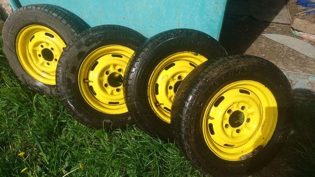 Літня гума з дисками