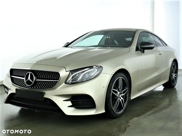 Mercedes-Benz Klasa E 300d Coupe AMG/NIGHT/Burmester/LED/Kamera/Navi/