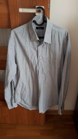 Koszula męska szara Zara rozmiar M