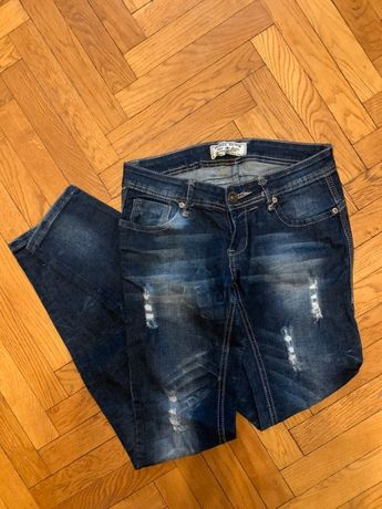 Modne jeansowe spodnie