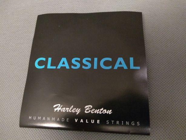 Struny do gitary klasycznej Harley Benton.