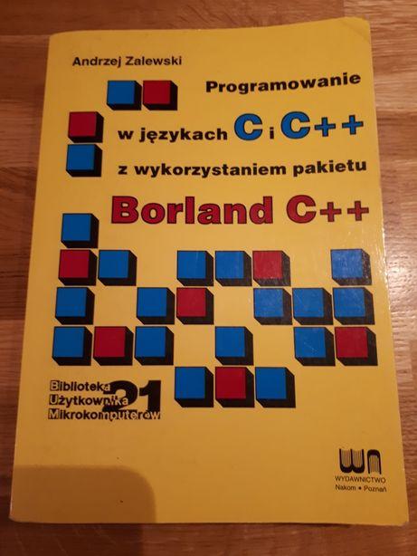 A. Zalewski Programowanie w języku C i C++ z wykorzystaniem pakietu ..