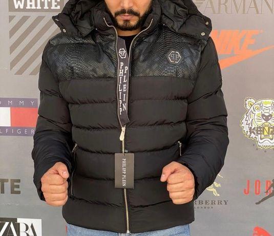 Kurtka Zimowa Philipp Plein Męska Nowa Rozm S-XXXL Jakość Premium