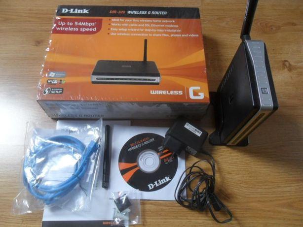 Router D-Link DIR-320 wireless G router. Okazja!