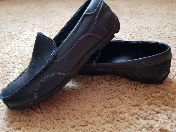 Туфлі макасіни шкіряні