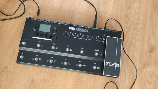 Line6 POD HD500X super stan!!!
