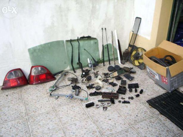 Várias péças MG ZR 105 e Rover 25