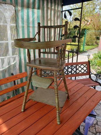 Zabytkowe krzeselko