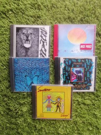 CD's originais Santana