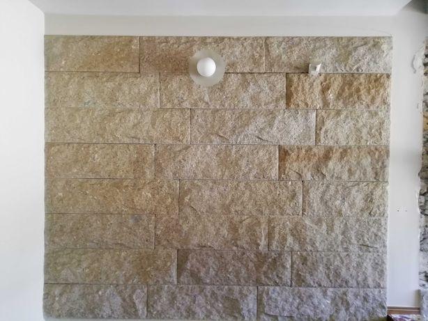 Pedra decorativa para construção