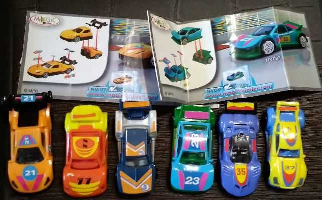 Киндер, гоночные машины, серия