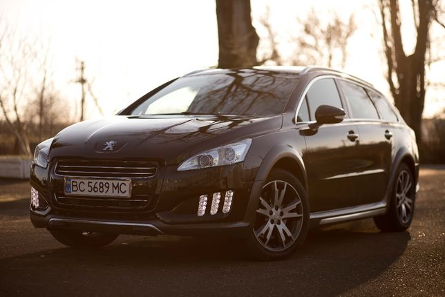 Peugeot 508 RXH 4x4 hybrid 2013