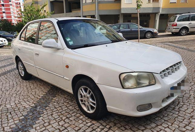 Hyundai Accent 1.3- 2000 IPO&IUC VÁLIDO 180000km