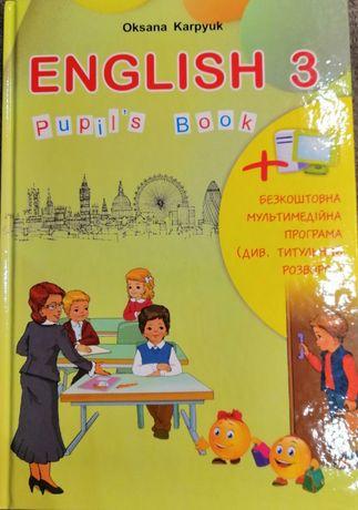 Підручник Англійська мова 3 клас