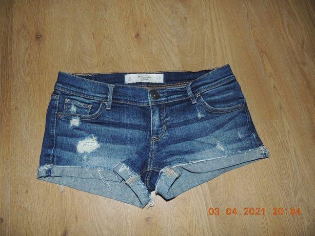 джинсовые шорты 10-13р. аbercrombie & fitch джинсові шорти