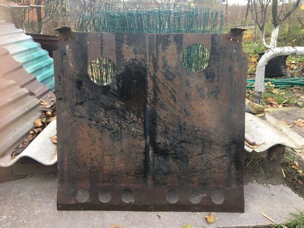 Захисна плита на ВАЗ 2111 б/у (обірвані передні вуза та доварені нові)