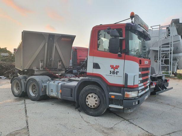 Scania 124G 420 6x4 ciagnik siodlowy