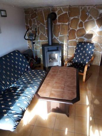 Sofa + 2 fotele + stolik