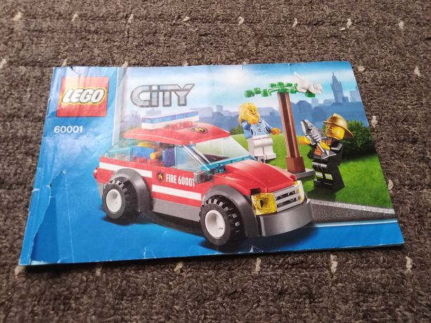 LEGO City 60001 Straż pożarna Fire Chief Car
