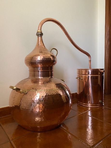 Alambique Tradicional em cobre