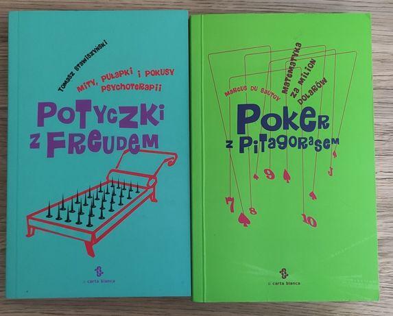 Książki 'Potyczki z Froudem' i 'Poker z Pitagorasem'