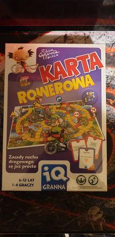 Gra Planszowa Karta Rowerowa IQ Granna