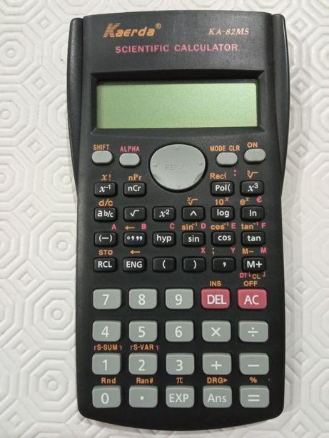 Calculadora científica, estojo, micas, mochilas...