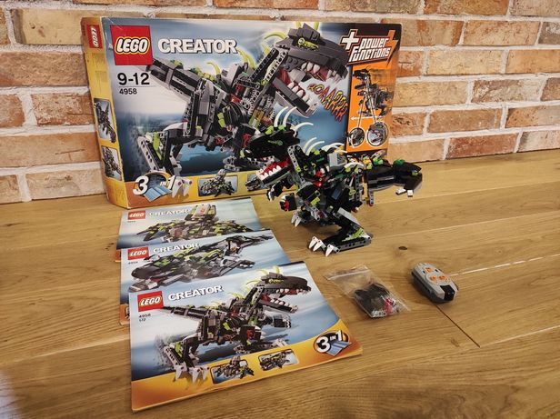 Lego Creator 4958 Monster Dino RC
