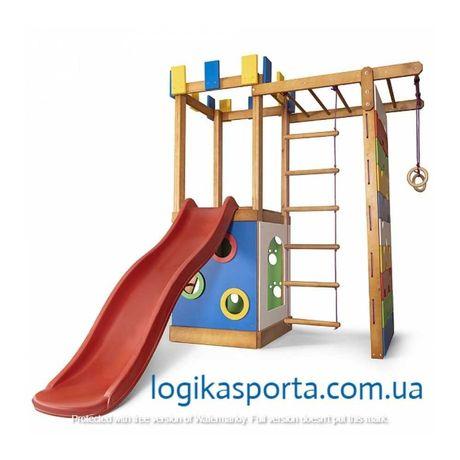 Горка, детский спортивный комплекс Детская игровая площадка для двора.