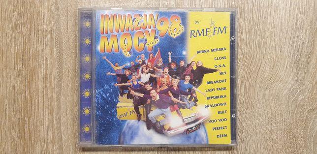Inwazja Mocy 98_RMF FM_Płyta CD