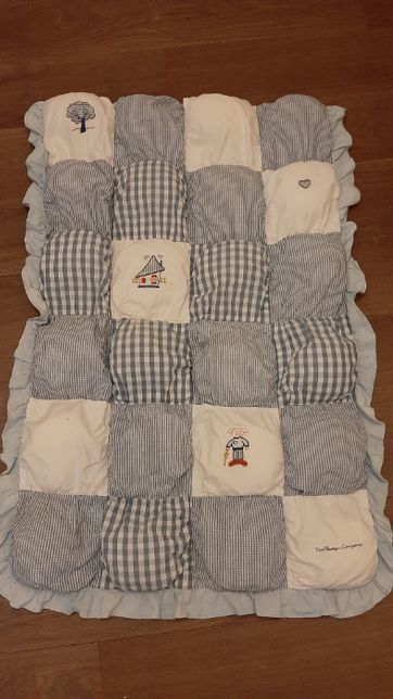 Детское мягкое одеяло бомбон