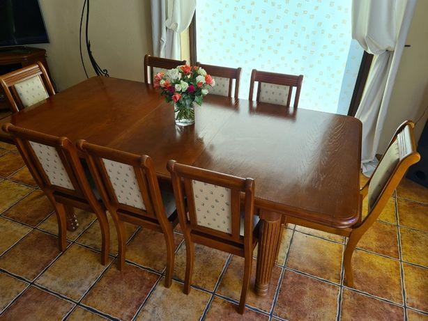 stół z krzesłami PETERYT