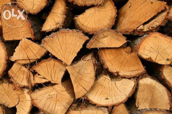 Drewno opałowe, sezonowane, bardzo suche. DĄB