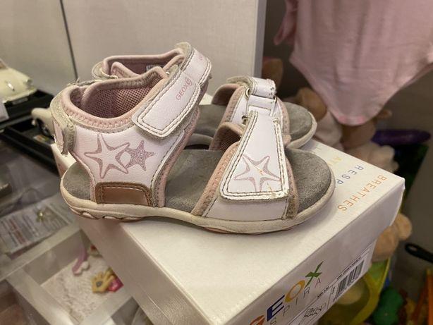 Босоножки на девочку , босоножки Geox, сандалии Geox
