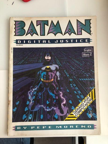 """BANDA DESENHADA DC : """"Batman- Digital Justice"""" - Editoria Abril"""