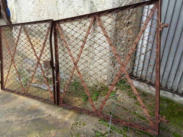 Portões em ferro rede de 1.mx2.40largura